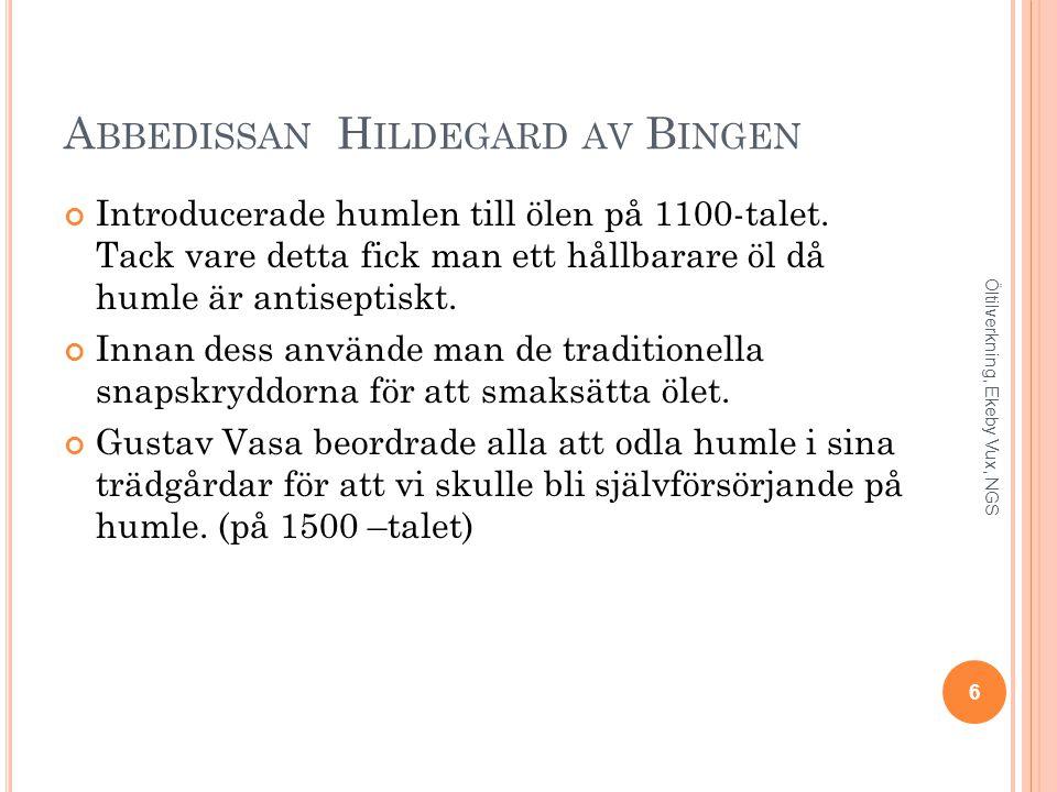 Abbedissan Hildegard av Bingen