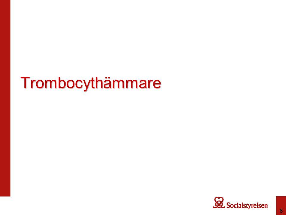 Trombocythämmare 6