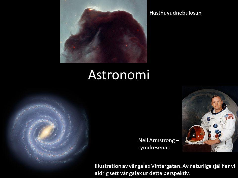 Astronomi Hästhuvudnebulosan Neil Armstrong – rymdresenär.