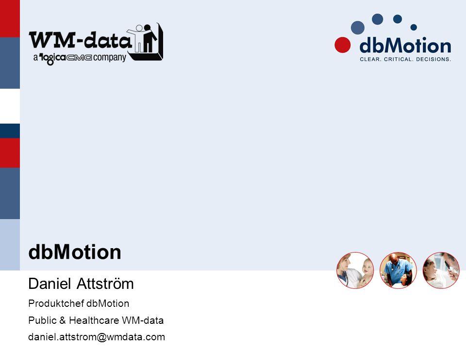 Agenda Utmaningen Lösningen: dbMotion En beprövad lösning Summering