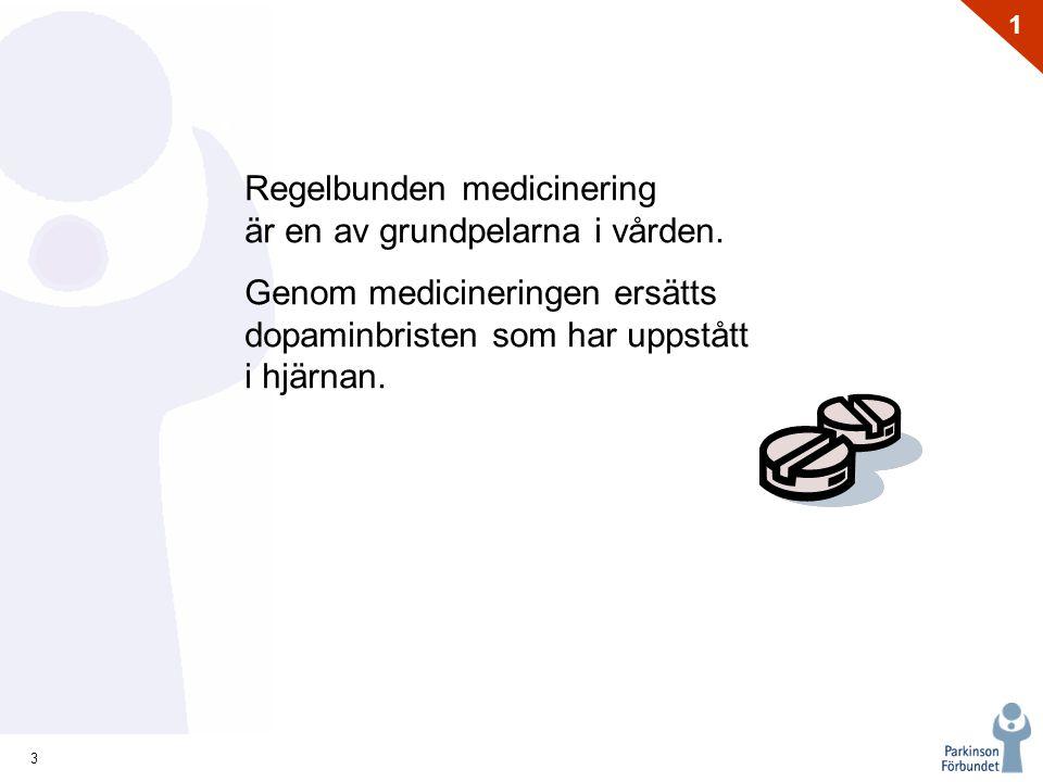 Regelbunden medicinering