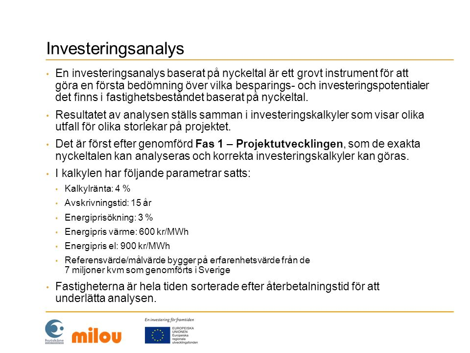 Investeringsanalys