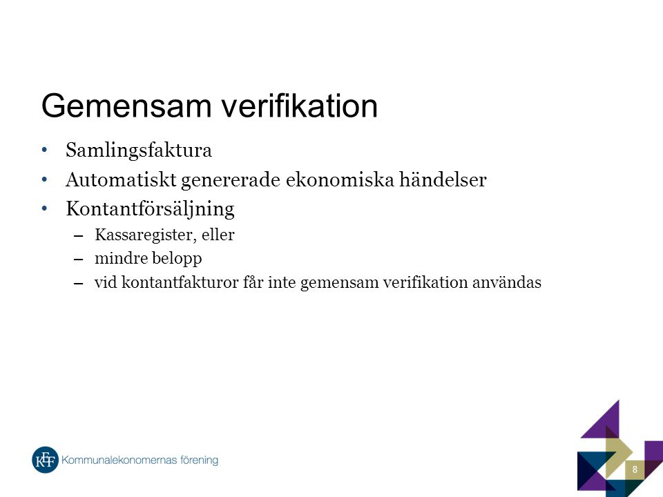 Gemensam verifikation