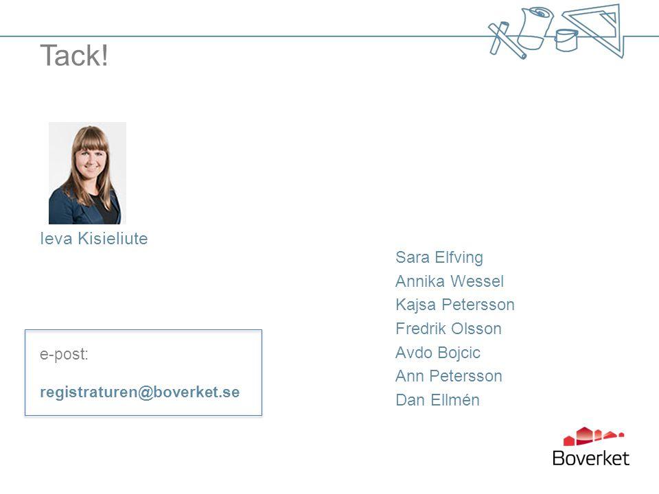 Tack! Ieva Kisieliute. e-post: registraturen@boverket.se.