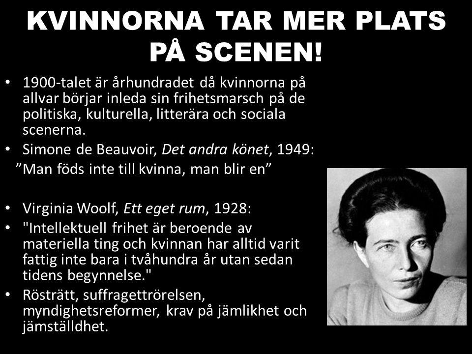 KVINNORNA TAR MER PLATS PÅ SCENEN!
