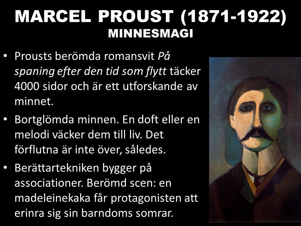 MARCEL PROUST (1871-1922) MINNESMAGI