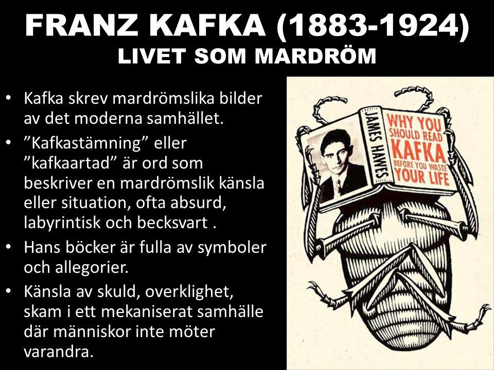 FRANZ KAFKA (1883-1924) LIVET SOM MARDRÖM