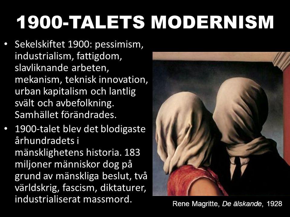 1900-TALETS MODERNISM