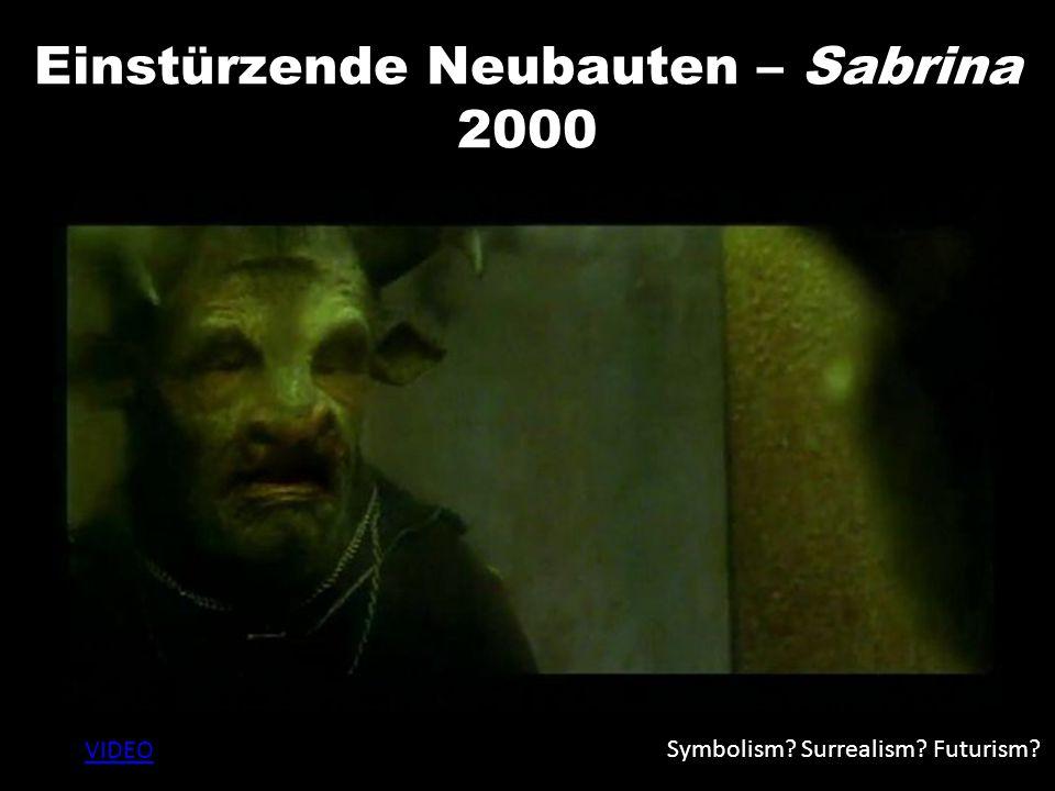 Einstürzende Neubauten – Sabrina 2000