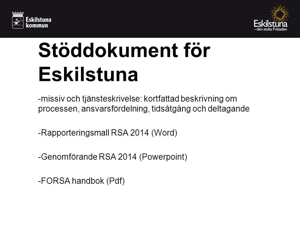 Stöddokument för Eskilstuna