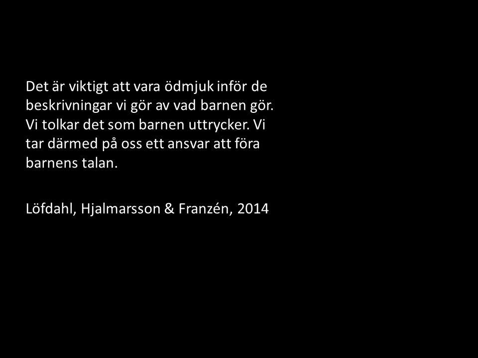 Löfdahl, Hjalmarsson & Franzén, 2014