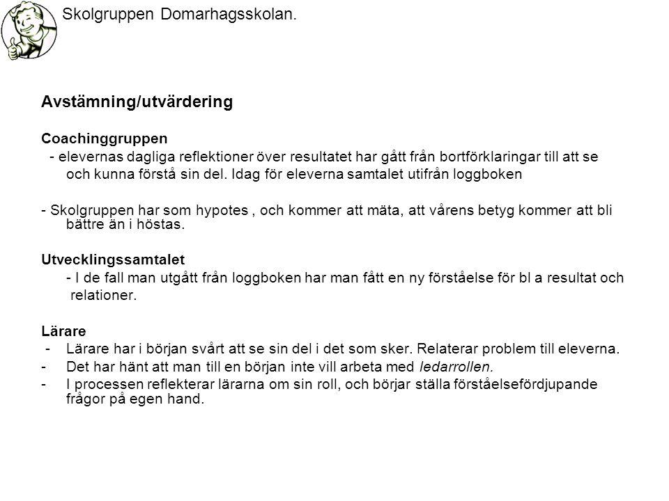 Skolgruppen Domarhagsskolan.