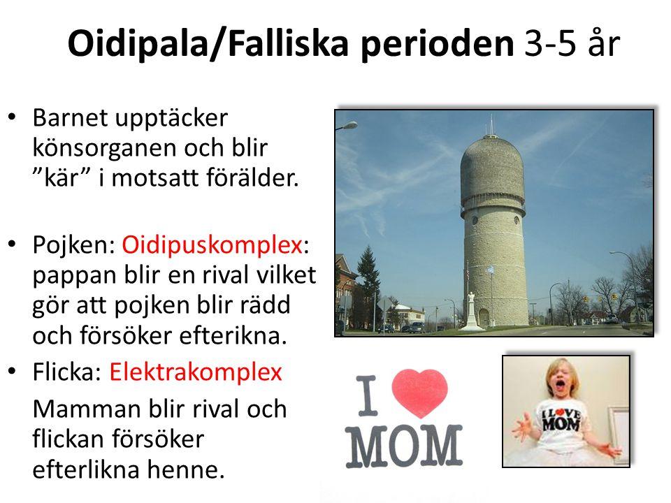 Oidipala/Falliska perioden 3-5 år
