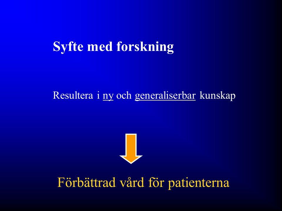 Förbättrad vård för patienterna
