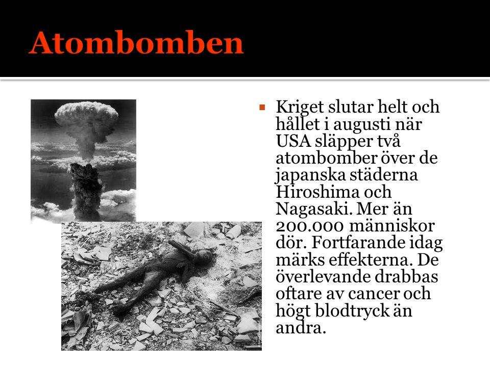 Atombomben