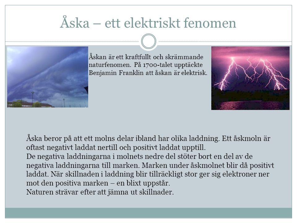 Åska – ett elektriskt fenomen