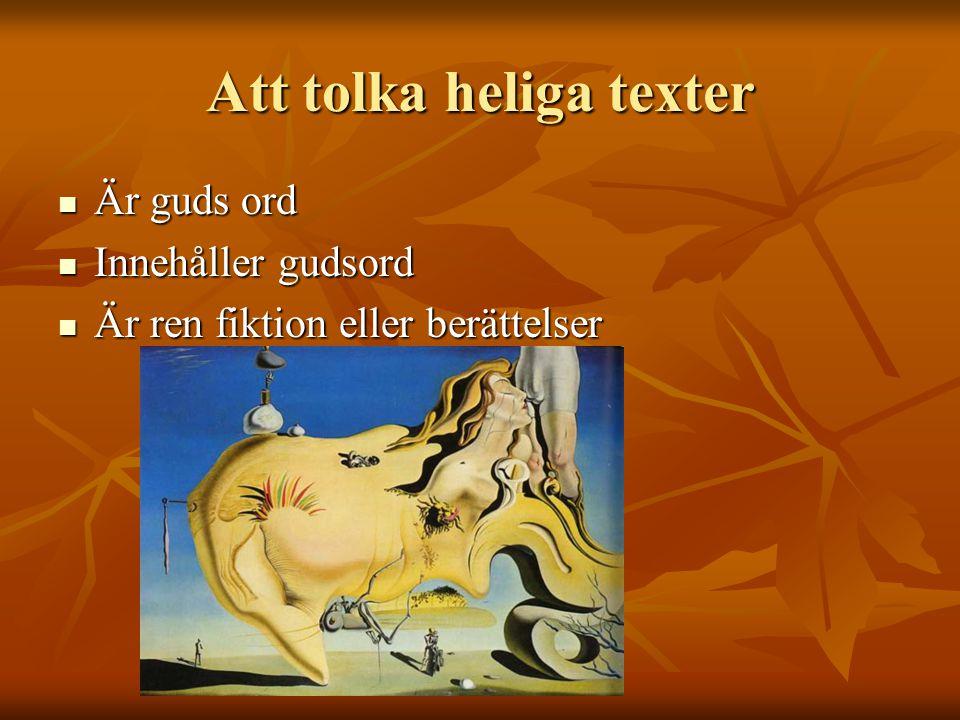 Att tolka heliga texter