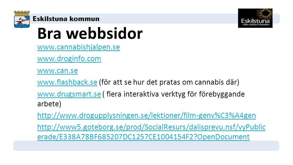Bra webbsidor
