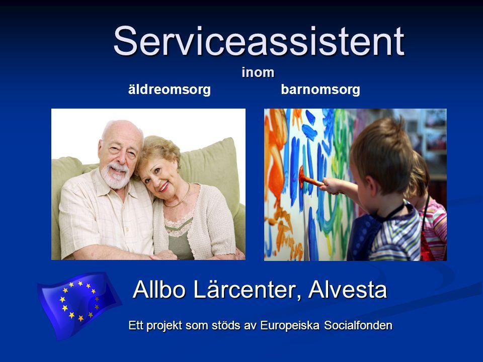 Serviceassistent inom