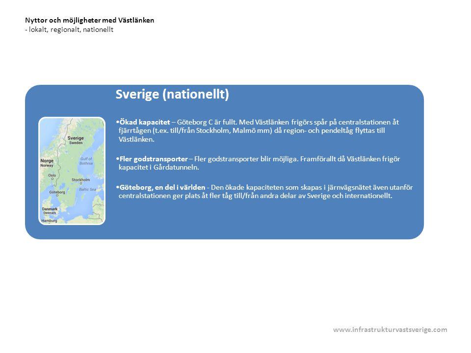 Nyttor och möjligheter med Västlänken - lokalt, regionalt, nationellt