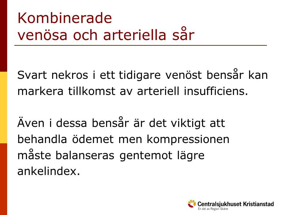 Kombinerade venösa och arteriella sår