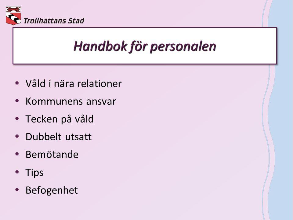 Handbok för personalen