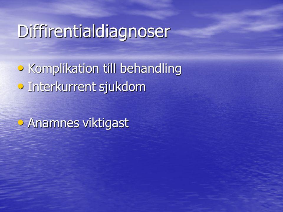 Diffirentialdiagnoser