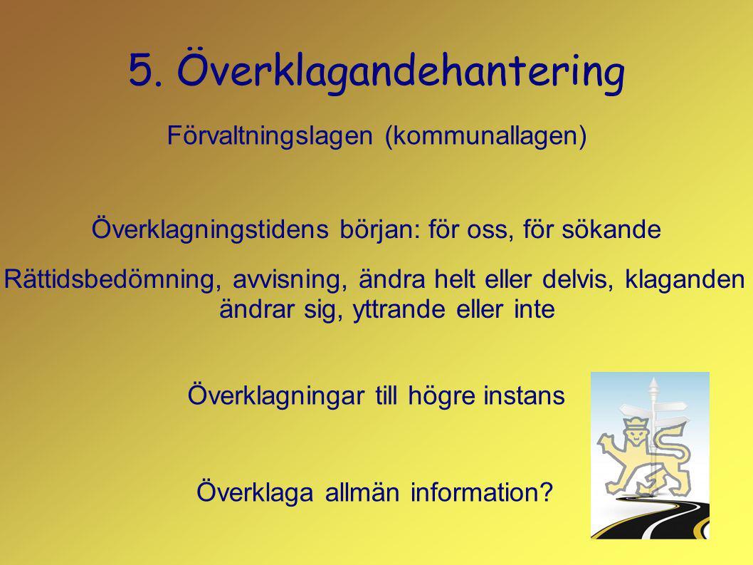 5. Överklagandehantering