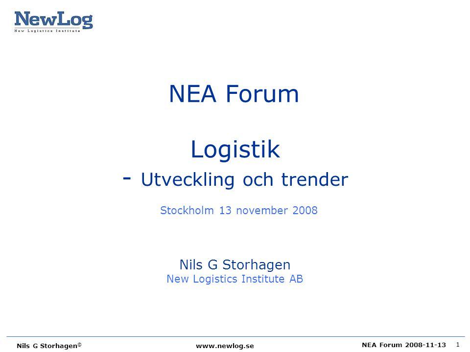 - Utveckling och trender Stockholm 13 november 2008