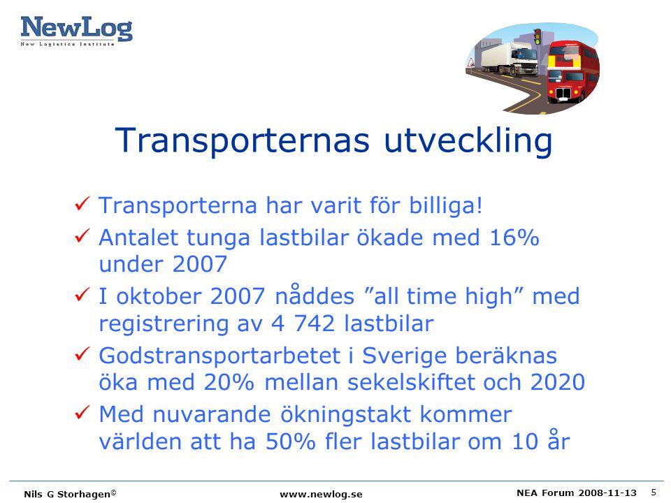 Transporternas utveckling