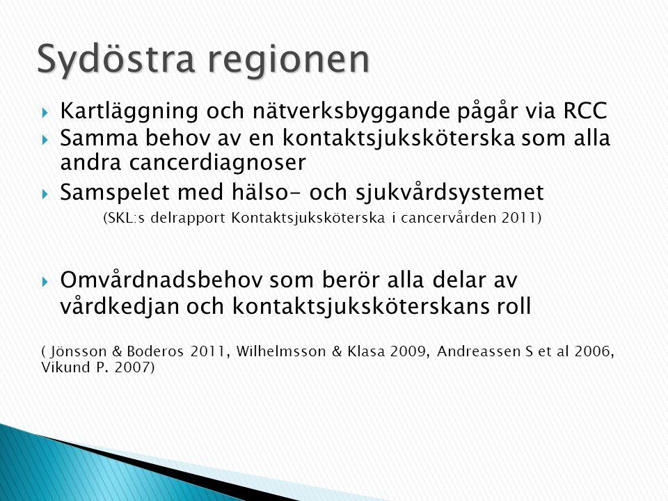 Sydöstra regionen Kartläggning och nätverksbyggande pågår via RCC