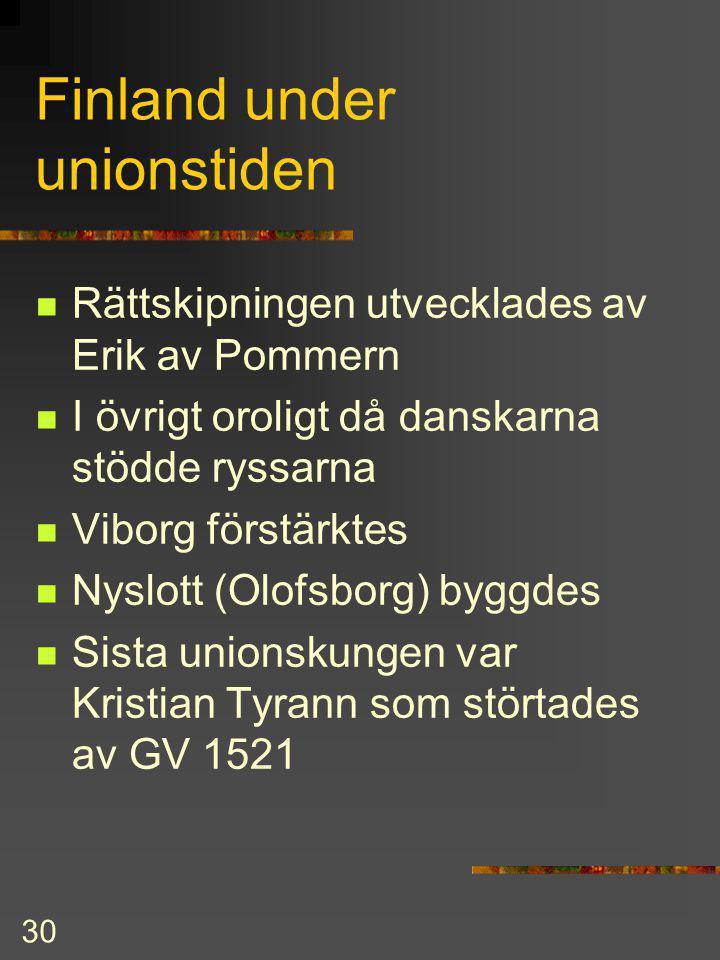 Finland under unionstiden