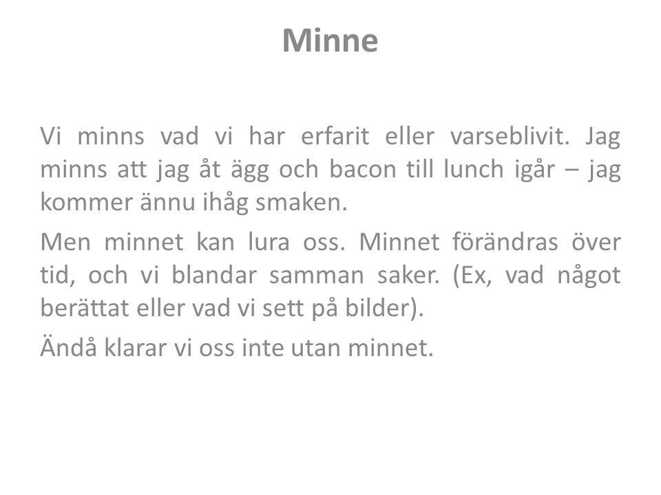 Minne