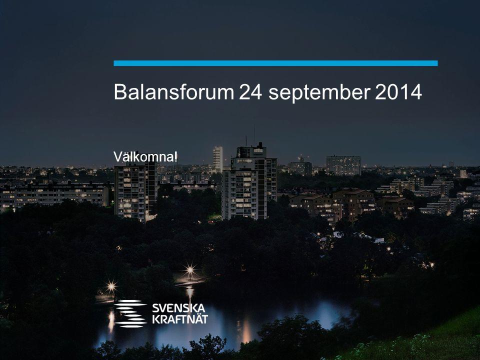 Balansforum 24 september 2014