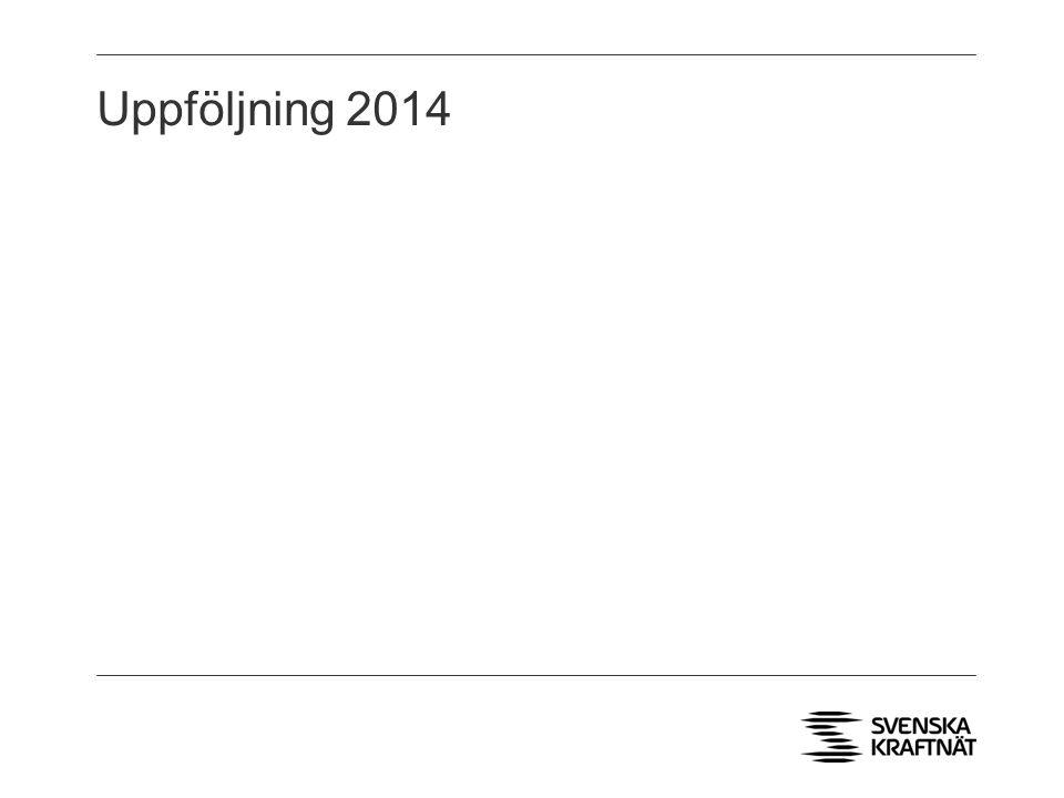 Uppföljning 2014