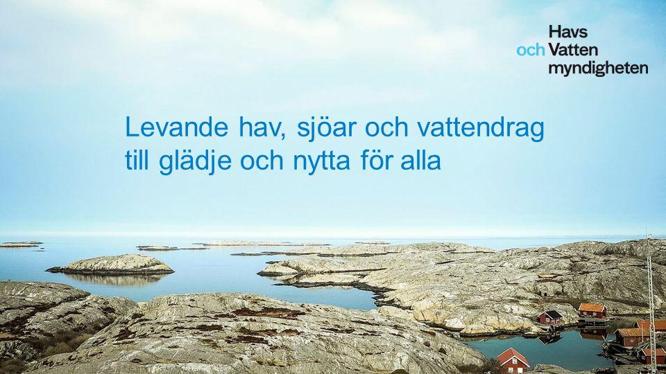 Levande hav, sjöar och vattendrag till glädje och nytta för alla