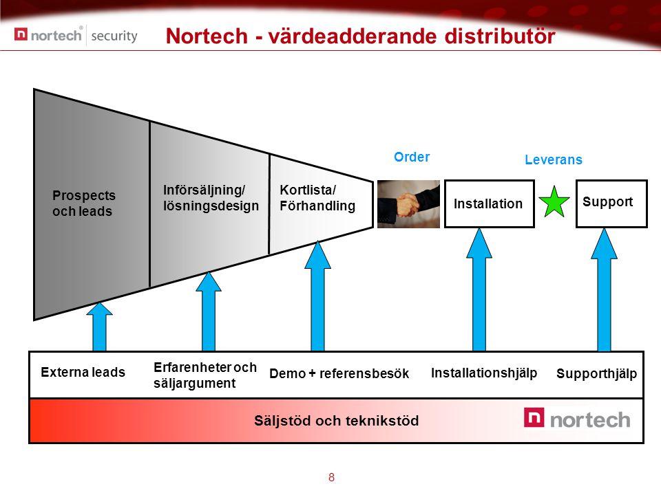 Nortech - värdeadderande distributör