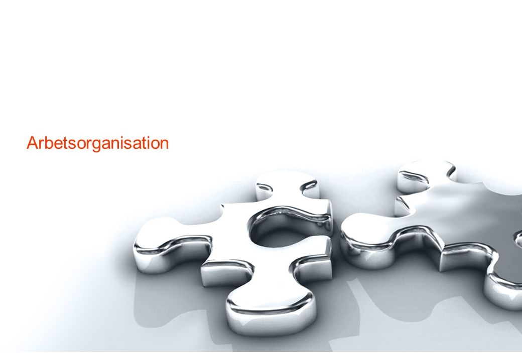 Arbetsorganisation