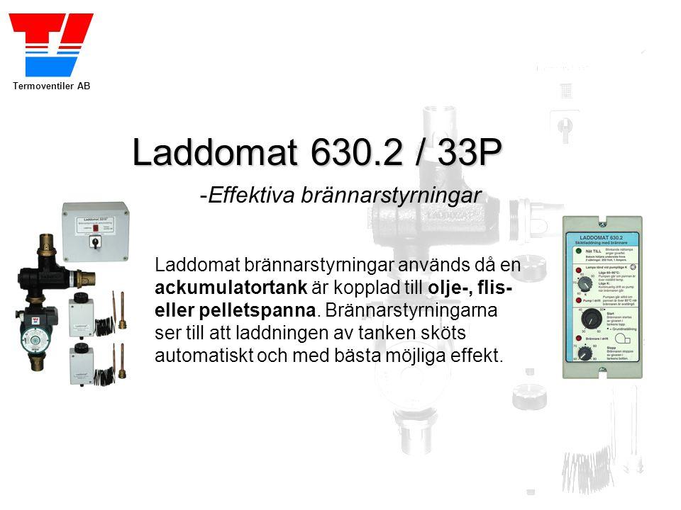 Laddomat 630.2 / 33P -Effektiva brännarstyrningar