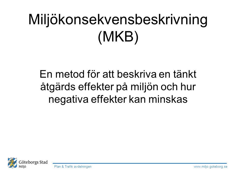 Miljökonsekvensbeskrivning (MKB)