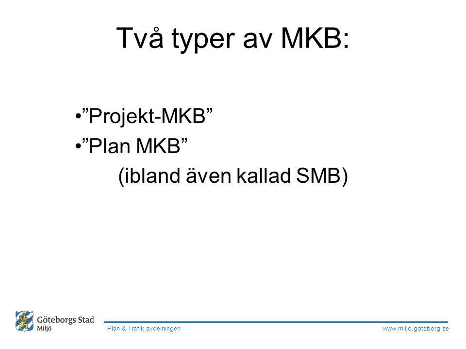 Projekt-MKB Plan MKB (ibland även kallad SMB)