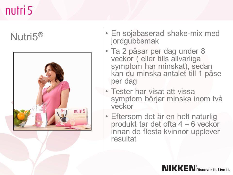 Nutri5® En sojabaserad shake-mix med jordgubbsmak
