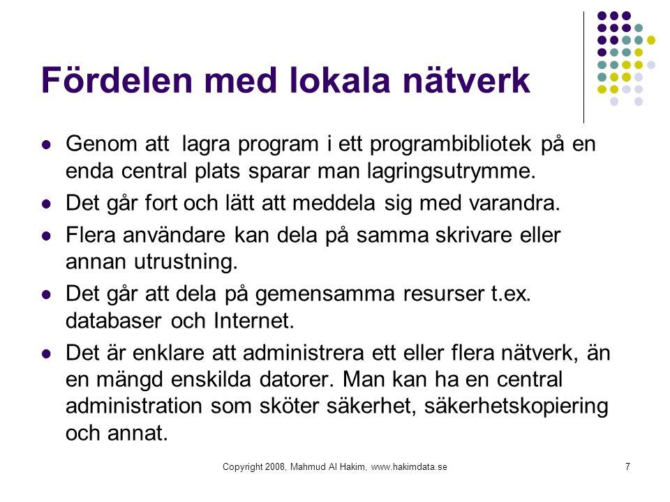 Fördelen med lokala nätverk