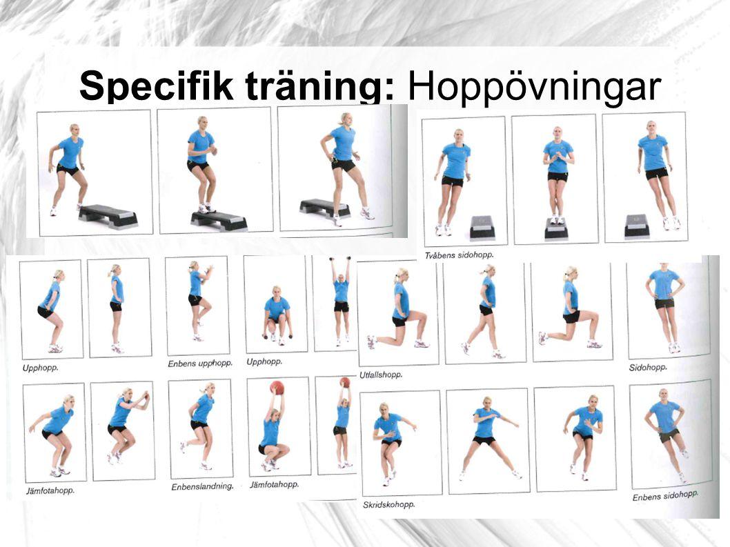 Specifik träning: Hoppövningar