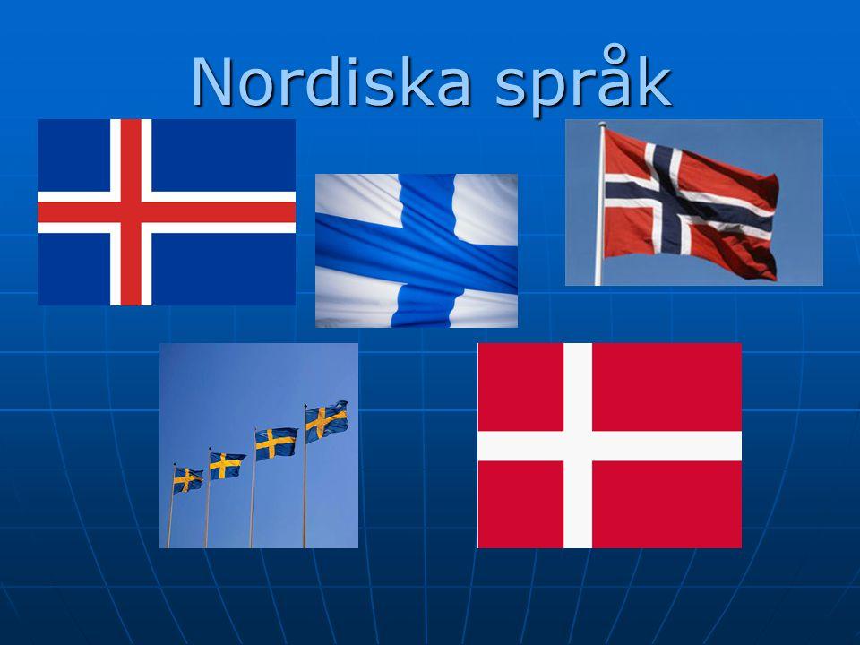 Nordiska språk
