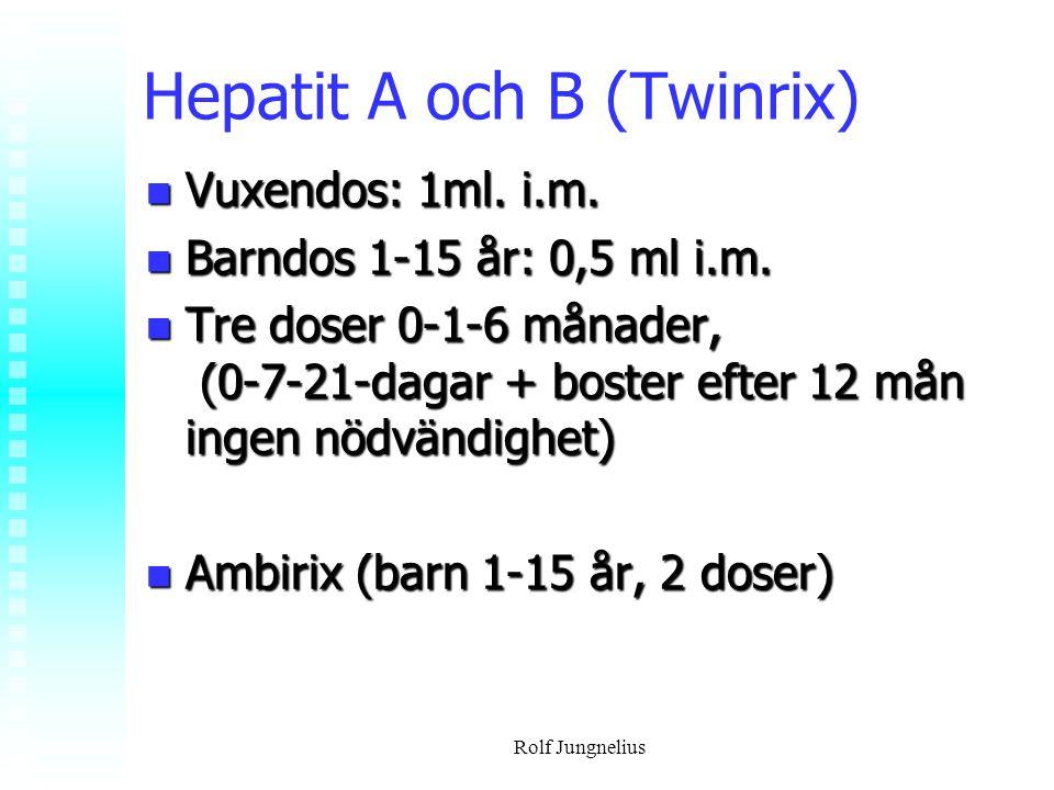Hepatit A och B (Twinrix)