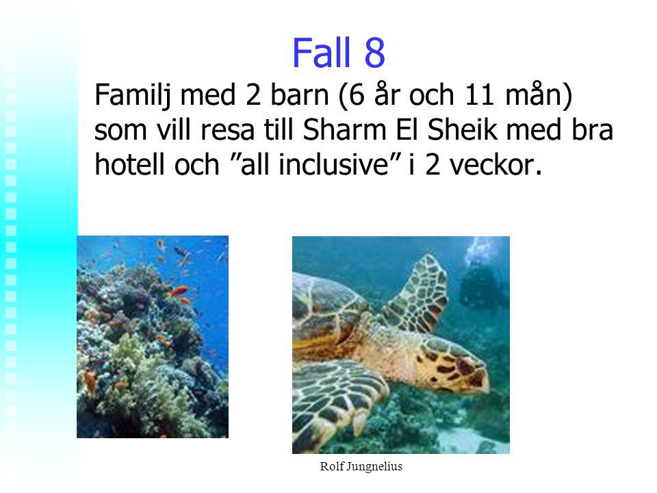 Fall 8 Familj med 2 barn (6 år och 11 mån) som vill resa till Sharm El Sheik med bra hotell och all inclusive i 2 veckor.