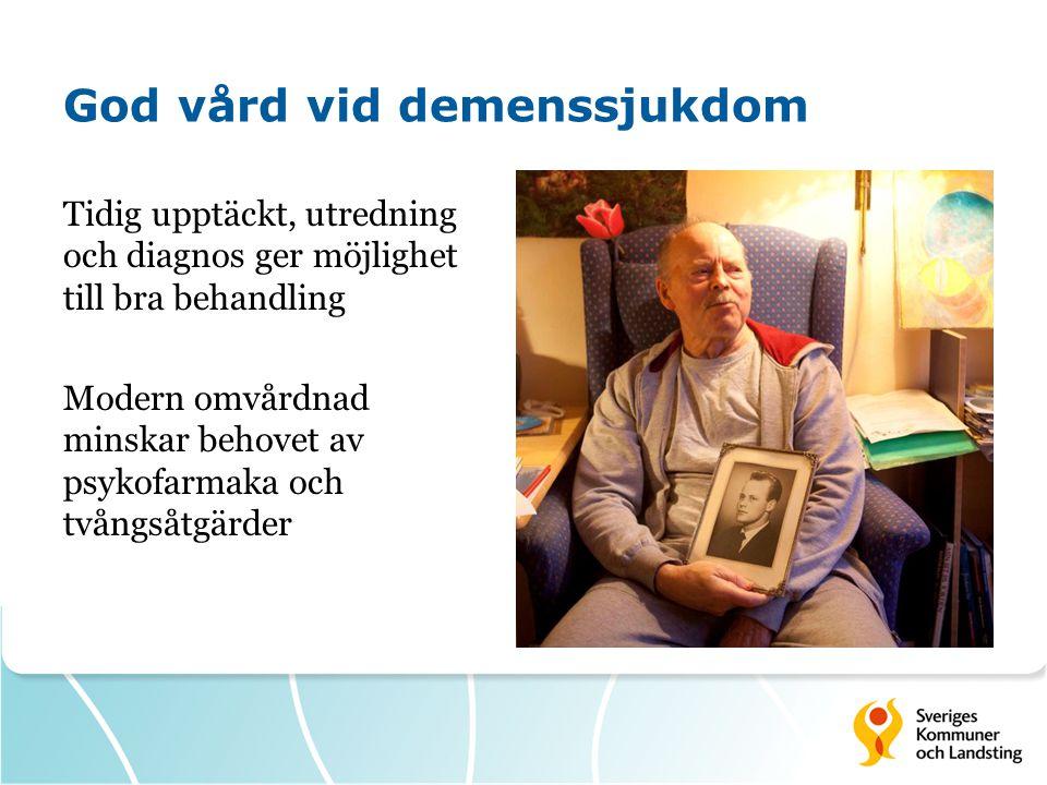 God vård vid demenssjukdom