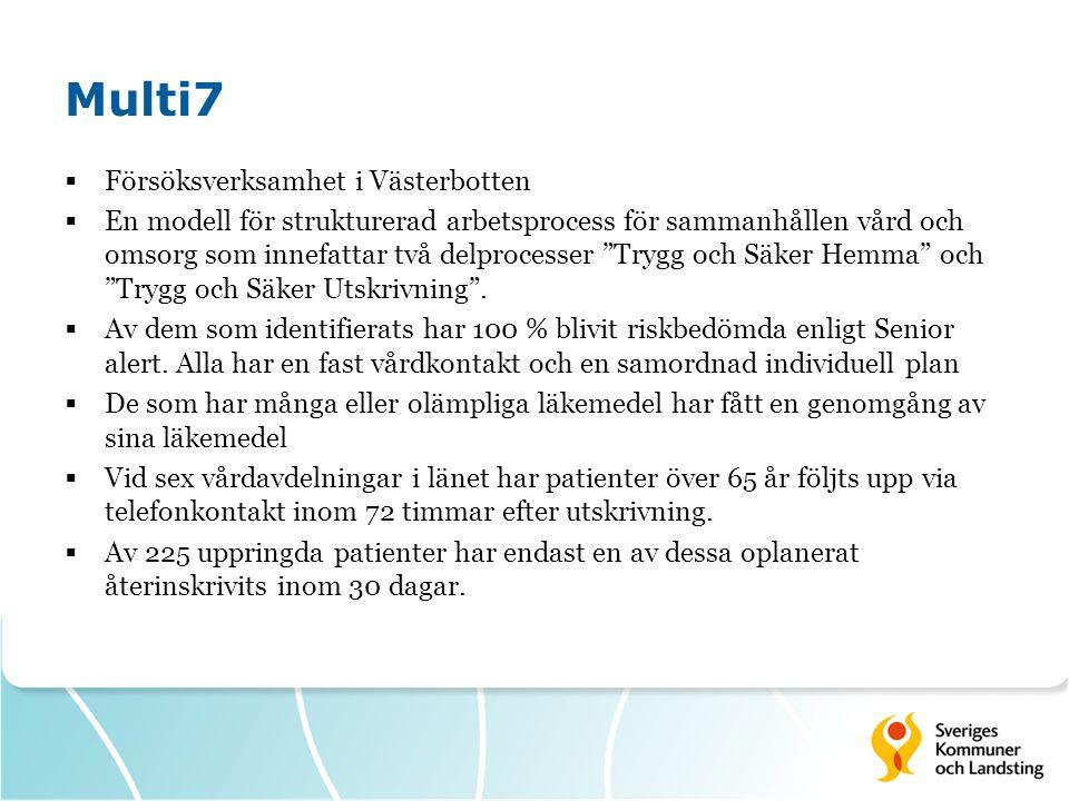 Multi7 Försöksverksamhet i Västerbotten