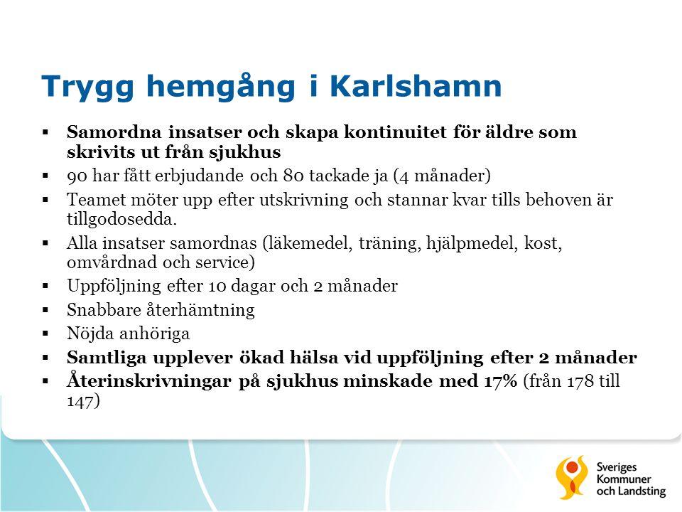 Trygg hemgång i Karlshamn